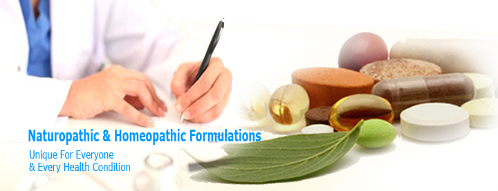 Naturopathic and Homeopathic formulations